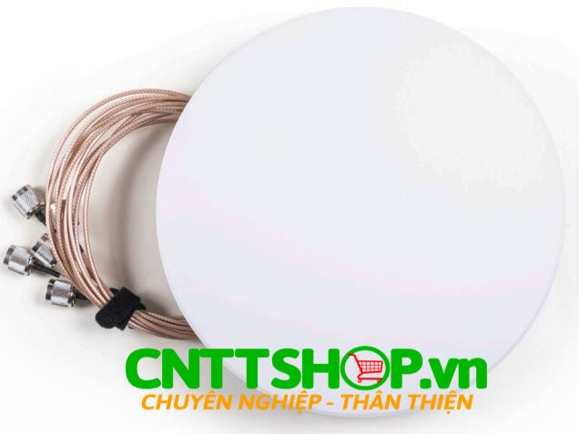 Cisco Meraki MA-ANT-3-D6 Indoor Dual-band Downtilt Omni Antenna, 6 Ports
