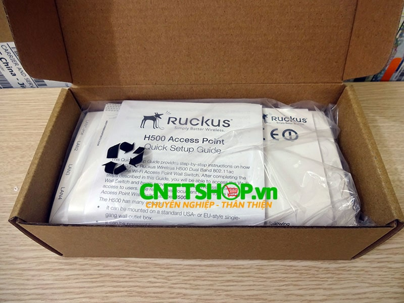901-H500-US00 Ruckus ZoneFlex H500 Multiservice 802.11ac Wired/Wireless Wall Switch | Image 7
