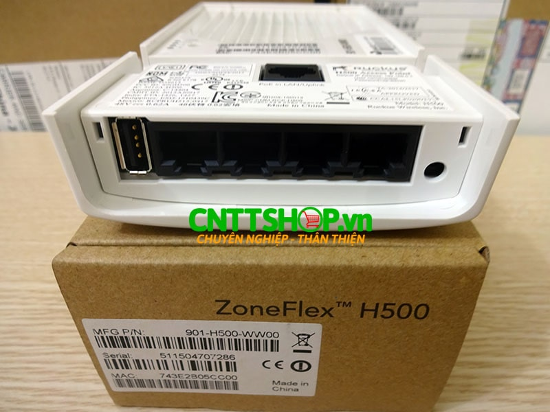 901-H500-US00 Ruckus ZoneFlex H500 Multiservice 802.11ac Wired/Wireless Wall Switch | Image 3