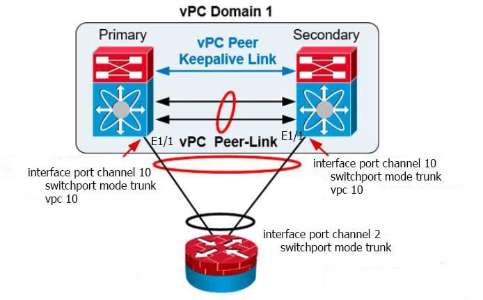 vPC là gì? Hướng dẫn cấu hình vPC trên Switch Cisco Nexus