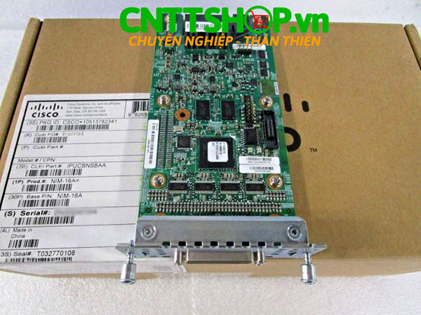 Cisco NIM-16A 16 Ports Asynchronous WAN Interface Module