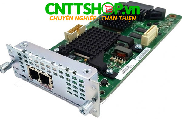 Cisco NIM-2FXO - 2 Ports Analog Voice Network Interface Module - FXO (Universal)