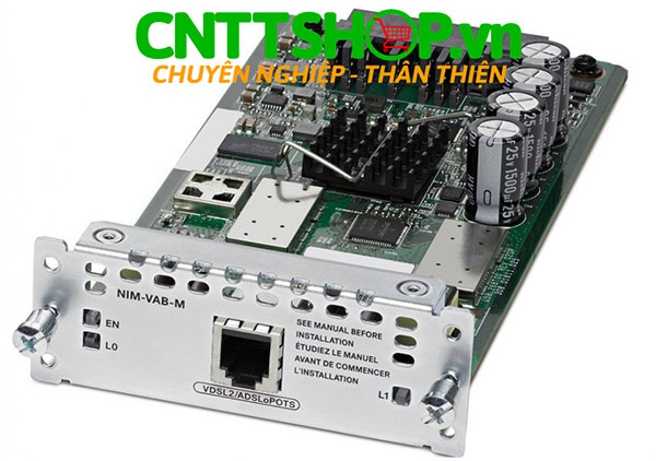 Cisco NIM-VAB-M - Multi Mode VDSL2/ADSL/2/2+ NIM Annex M