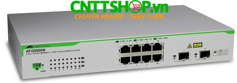 Hình ảnh switch Allied Telesis AT-GS950/8