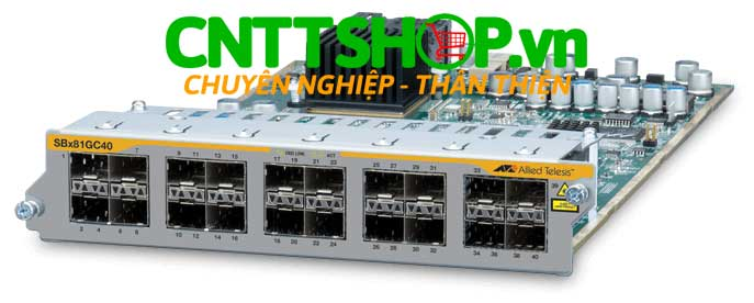 Hình ảnh Allied Telesis AT-SBx81GC40 Network Module