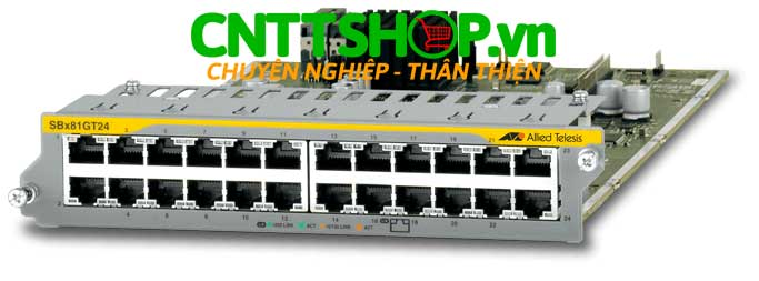 hình ảnh Allied Telesis AT-SBx81GT24 Line Card