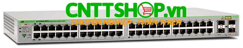 Hình ảnh Switch PoE Layer 2 Allied Telesis AT-GS950/48PS