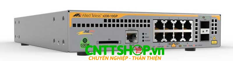 Switch Allied Telesis AT-x230-10GP Layer 3