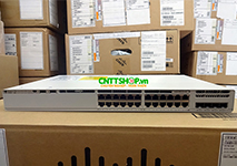 C9200L-24T-4X-E Switch Cisco Catalyst 9200L 24 Port Data, 4x10G uplink, Network Essentials