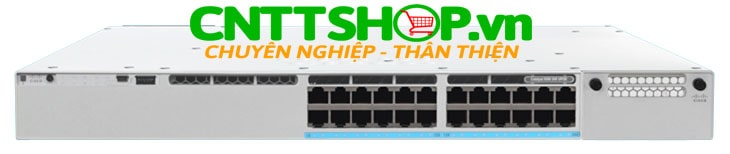 Cisco Catalyst C9300-24U-A-UL 24-port modular uplinks UPOE.