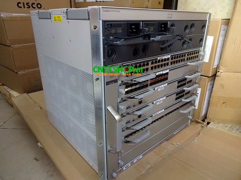 Switch Cisco C9407R Catalyst 9400 Series 7 Slot Chassis