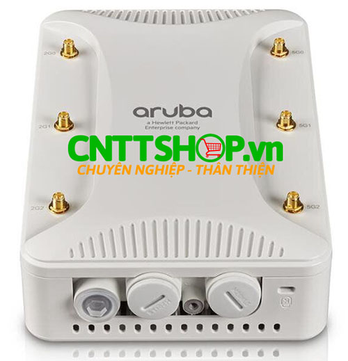 Aruba AP-228 Dual Radio 6xRPSMA Connectors Indoor Hardened AP.